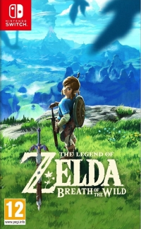 Legend of Zelda, The: Breath of the Wild Box Art