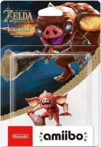 Bokoblin - The Legend of Zelda: Breath of the Wild Box Art