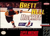 Brett Hull Hockey Box Art