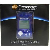 Sega Visual Memory Unit (Clear Blue) Box Art