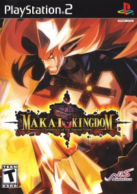 Makai Kingdom: Chronicles of the Sacred Tome Box Art