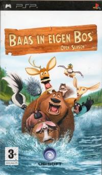 Baas in eigen Bos: Open Season Box Art