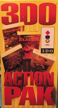3DO Action Pak Box Art