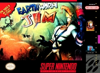 Earthworm Jim Box Art