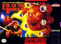 Advanced Dungeons & Dragons: Eye of the Beholder Box Art