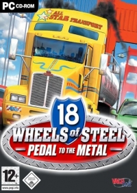 18 Wheels of Steel: Pedal to the Metal Box Art