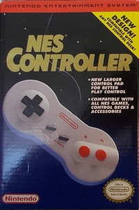 NES Controller (NES-039) Box Art