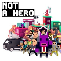 Not A Hero Box Art