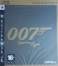 007: Quantum of Solace - Édition Collector Box Art