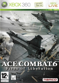 Ace Combat 6: Fires of Liberation [FR] Box Art