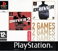 2 Games: Driver / Driver 2: Back on the Streets Box Art
