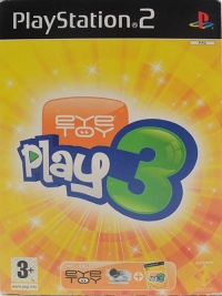 EyeToy: Play 3 (includes EyeToy) Box Art