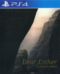 Dear Esther - Landmark Edition Box Art