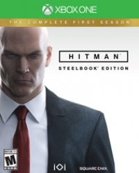 Hitman: The Complete First Season - Steelbook Edition Box Art