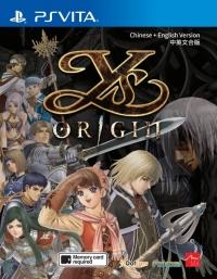 Ys Origin Box Art