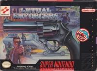 Lethal Enforcers Box Art