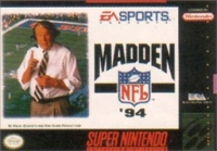 Madden NFL 94 Box Art