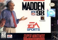 Madden NFL 98 Box Art