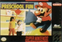 Mario's Early Years: Preschool Fun Box Art