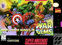 Marvel Super Heroes in War of the Gems Box Art