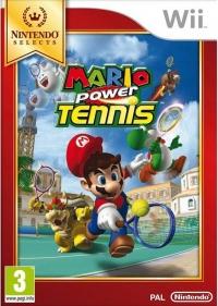 Mario Power Tennis - Nintendo Selects [UK] Box Art