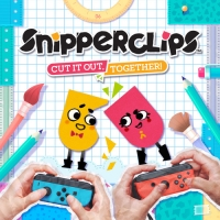 Snipperclips - Cut it out, Together! Box Art