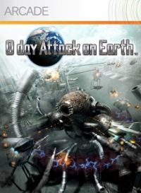 0 Day Attack On Earth Box Art