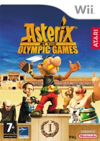 Asterix at the Olympic Games Box Art