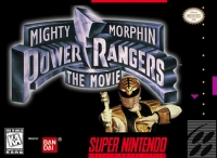 Mighty Morphin Power Rangers: The Movie Box Art