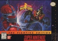 Mighty Morphin Power Rangers - The Fighting Edition Box Art