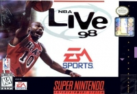 NBA Live 98 Box Art