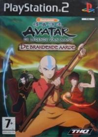 Avatar: De Legende van Aang: De Brandende Aarde Box Art