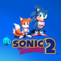 3D Sonic the Hedgehog 2 Box Art