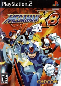 Mega Man X8 Box Art