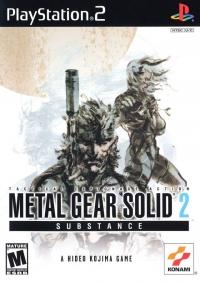 Metal Gear Solid 2: Substance Box Art