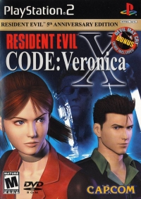 Resident Evil: Code: Veronica X - 5th Anniversary Edition Box Art