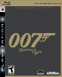 007: Quantum of Solace - Collector's Edition Box Art