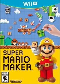 Super Mario Maker Box Art