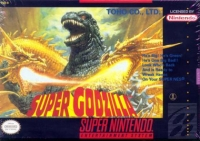 Super Godzilla Box Art