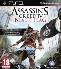 Assassin's Creed IV: Black Flag (Édition Exclusive PS3) Box Art