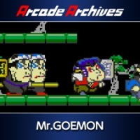 Arcade Archives Mr.GOEMON Box Art