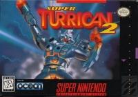 Super Turrican 2 Box Art