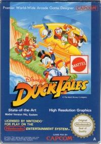 Disney's DuckTales (Mattel) Box Art