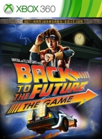 Back to the Future: The Game Box Art