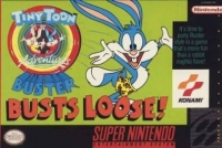 Tiny Toon Adventures: Buster Busts Loose! Box Art