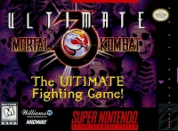 Ultimate Mortal Kombat 3 Box Art