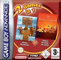 2 games in 1: Disneys Bärenbrüder + Lion King Box Art
