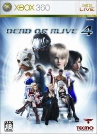 Dead or Alive 4 Box Art