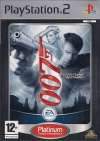 007: Everything or Nothing - Platinum [FI] Box Art