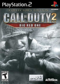 Call of Duty 2: Big Red One - Collector's Edition Box Art
